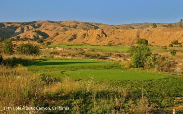 Rustic Canyon Hanse Golf Course Design