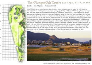 Rio Hole 16 Description